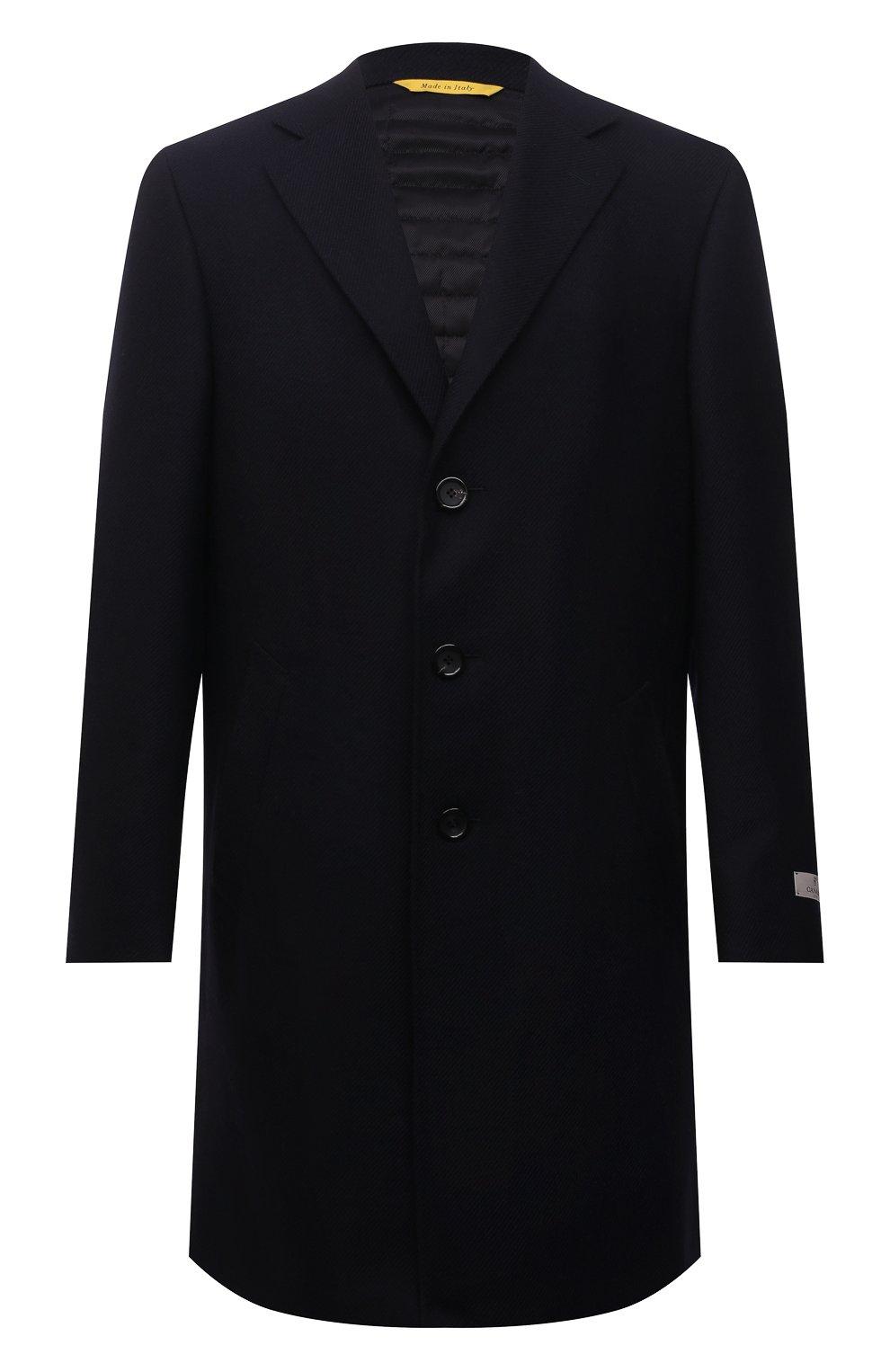 Мужской шерстяное пальто CANALI темно-синего цвета, арт. 55918/FF00193   Фото 1