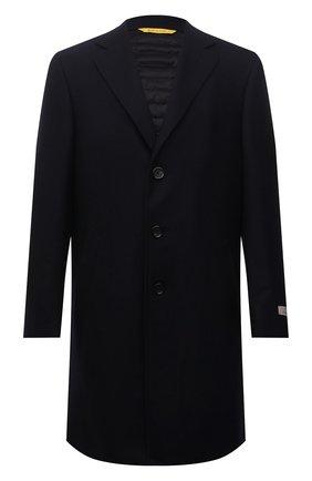 Мужской шерстяное пальто CANALI темно-синего цвета, арт. 55918/FF00193 | Фото 1