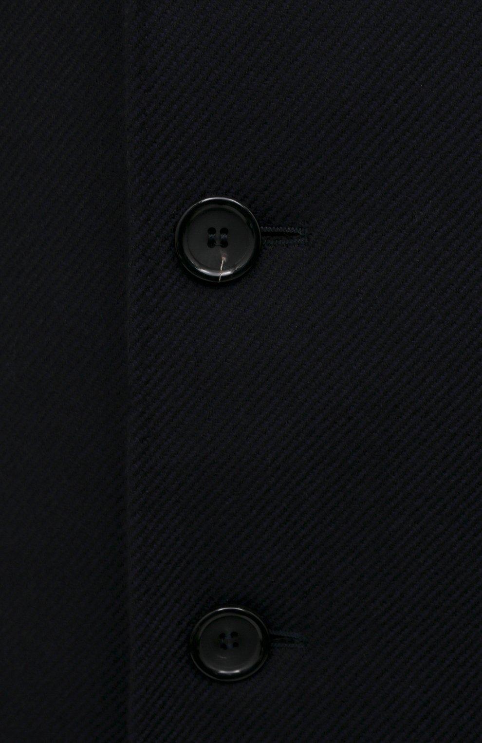 Мужской шерстяное пальто CANALI темно-синего цвета, арт. 55918/FF00193   Фото 5