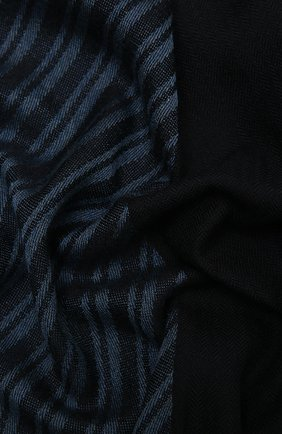 Мужской шарф из кашемира и шелка LORO PIANA синего цвета, арт. FAL6653 | Фото 2