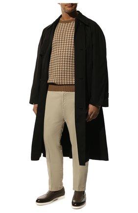Мужские хлопковые брюки RALPH LAUREN светло-бежевого цвета, арт. 790802188   Фото 2