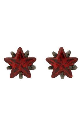 Женские серьги DZHANELLI красного цвета, арт. 0165 | Фото 1