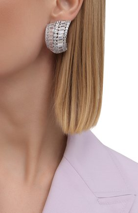 Женские серьги hyperbola SWAROVSKI серебряного цвета, арт. 5598344 | Фото 2
