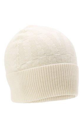 Женская шерстяная шапка VALENTINO кремвого цвета, арт. WW2HB00S/LLA   Фото 1 (Материал: Шерсть)