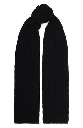 Женский шарф из кашемира и шелка VALENTINO темно-синего цвета, арт. WW2ED00B/ASX | Фото 1