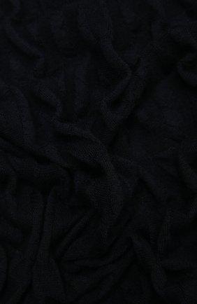 Женский шарф из кашемира и шелка VALENTINO темно-синего цвета, арт. WW2ED00B/ASX | Фото 2