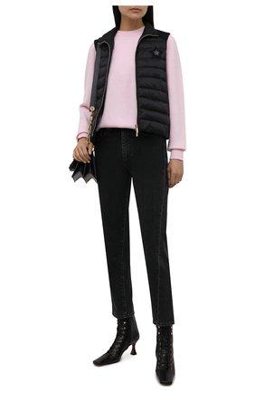 Женский стеганый жилет LORENA ANTONIAZZI черного цвета, арт. A2115PI20A/3252 | Фото 2