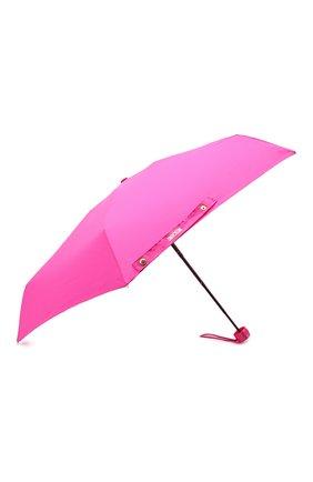 Женский складной зонт MOSCHINO фуксия цвета, арт. 8014-SUPERMINI | Фото 2