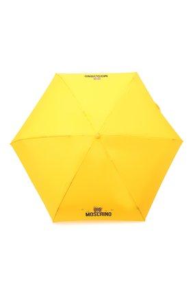 Женский складной зонт MOSCHINO желтого цвета, арт. 8042-SUPERMINI | Фото 1