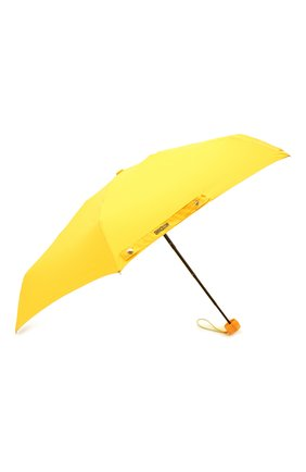 Женский складной зонт MOSCHINO желтого цвета, арт. 8042-SUPERMINI | Фото 2