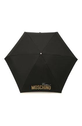 Женский складной зонт MOSCHINO золотого цвета, арт. 8900-SUPERMINI | Фото 1