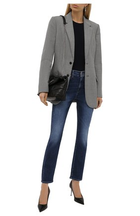 Женские джинсы 7 FOR ALL MANKIND синего цвета, арт. JSDTB740SA   Фото 2
