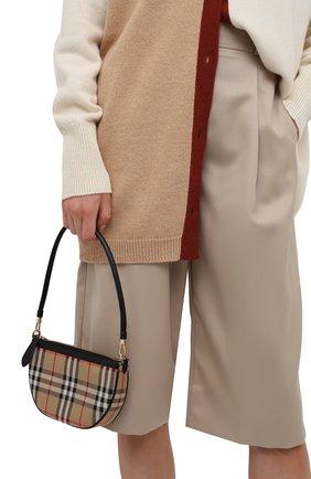 Женская сумка olympia small BURBERRY бежевого цвета, арт. 8043405 | Фото 2