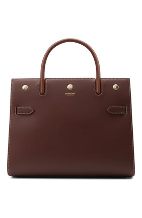 Женская сумка title small BURBERRY коричневого цвета, арт. 8042391 | Фото 1