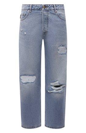 Женские джинсы GANNI голубого цвета, арт. F5796 | Фото 1