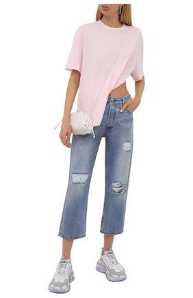 Женские джинсы GANNI голубого цвета, арт. F5796 | Фото 2