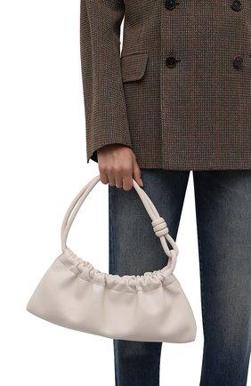 Женская сумка NANUSHKA кремвого цвета, арт. NW21PFBG04271   Фото 2
