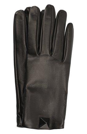 Женские кожаные перчатки VALENTINO черного цвета, арт. WW2GDA00/PJG | Фото 1