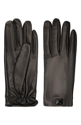 Женские кожаные перчатки VALENTINO черного цвета, арт. WW2GDA00/PJG | Фото 2