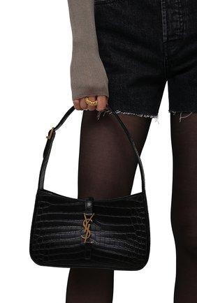 Женская сумка le 5 à 7 SAINT LAURENT черного цвета, арт. 657228/DZESW   Фото 2