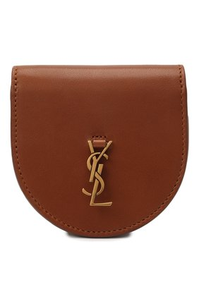 Женская сумка kaia mini SAINT LAURENT коричневого цвета, арт. 657818/BWR0W | Фото 1 (Материал: Натуральная кожа; Сумки-технические: Сумки через плечо; Размер: mini; Ремень/цепочка: На ремешке)