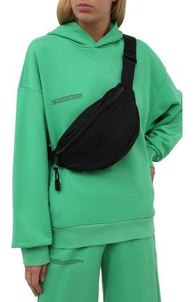 Женская поясная сумка ALEXANDER WANG черного цвета, арт. 20321F21T   Фото 2