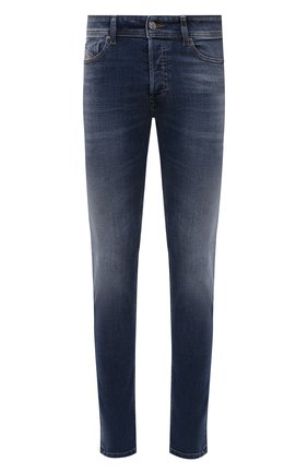 Мужские джинсы DIESEL темно-синего цвета, арт. 00SWJF/09A60 | Фото 1