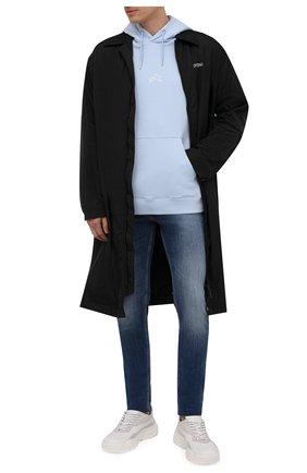 Мужские джинсы DIESEL темно-синего цвета, арт. 00SWJF/09A60 | Фото 2