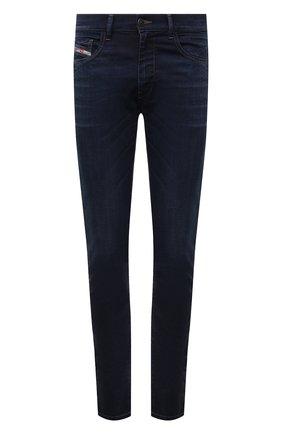 Мужские джинсы DIESEL темно-синего цвета, арт. A01014/069WS | Фото 1