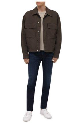 Мужские джинсы DIESEL темно-синего цвета, арт. A01014/069WS | Фото 2