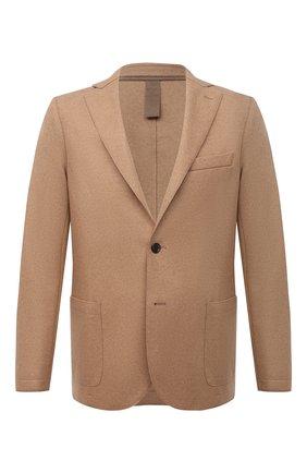 Мужской шерстяной пиджак ELEVENTY темно-бежевого цвета, арт. D70GIAA01 JAC24018 | Фото 1