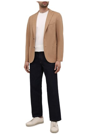 Мужской шерстяной пиджак ELEVENTY темно-бежевого цвета, арт. D70GIAA01 JAC24018 | Фото 2