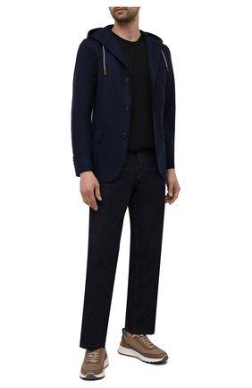 Мужской шерстяной пиджак ELEVENTY темно-синего цвета, арт. D70GIAD05 JAC24018 | Фото 2