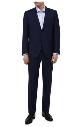 Мужские кожаные дерби W.GIBBS черного цвета, арт. 7255031/2126 | Фото 2