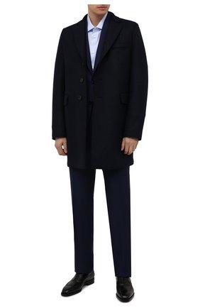 Мужские кожаные оксфорды W.GIBBS черного цвета, арт. 7335001/2253 | Фото 2
