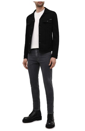 Мужские джинсы DIESEL темно-серого цвета, арт. A02696/09A74 | Фото 2