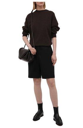 Женские кожаные ботинки SANTONI черного цвета, арт. WTQC59534BA2NBCKN01 | Фото 2