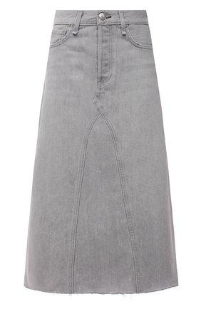 Женская джинсовая юбка RAG&BONE серого цвета, арт. WDD21P1B35W5AN | Фото 1