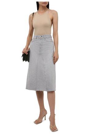 Женская джинсовая юбка RAG&BONE серого цвета, арт. WDD21P1B35W5AN | Фото 2