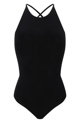 Женское хлопковое боди RAG&BONE черного цвета, арт. WCC21PT018UN18 | Фото 1
