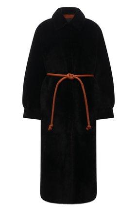 Женское меховое пальто BLANCHA черного цвета, арт. 21117/300/30/NER0/SIENA | Фото 1