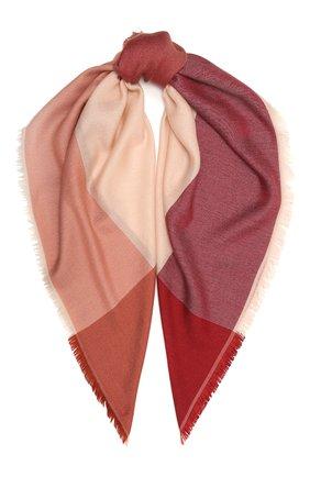 Женская шаль из кашемира и шелка LORO PIANA красного цвета, арт. FAL7667 | Фото 1