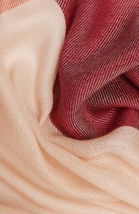 Женская шаль из кашемира и шелка LORO PIANA красного цвета, арт. FAL7667 | Фото 2