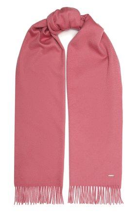 Женский кашемировый шарф grande unita LORO PIANA розового цвета, арт. FAA1056 | Фото 1