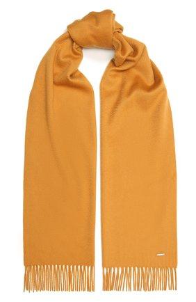 Женский кашемировый шарф grande unita LORO PIANA желтого цвета, арт. FAA1056 | Фото 1