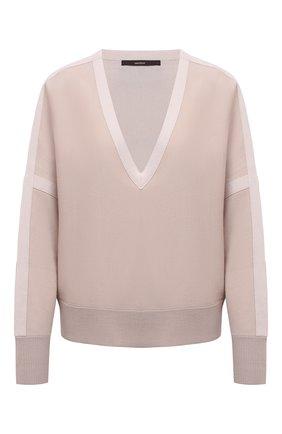 Женский шерстяной пуловер WINDSOR бежевого цвета, арт. 52 DP603 10012251 | Фото 1