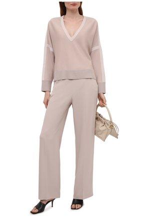 Женские брюки WINDSOR светло-бежевого цвета, арт. 52 DHE304 10010785 | Фото 2