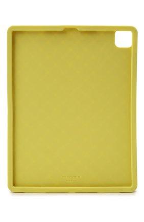 Чехол для ipad pro BOTTEGA VENETA салатового цвета, арт. 670187/V0EY0 | Фото 2