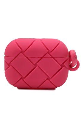 Чехол для airpods pro BOTTEGA VENETA розового цвета, арт. 650530/V0EY1   Фото 1