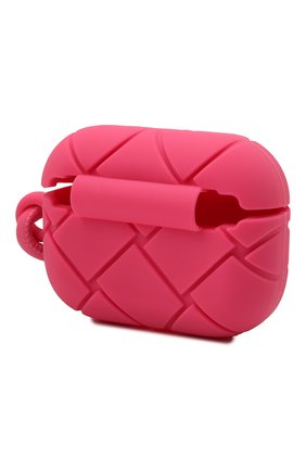 Чехол для airpods pro BOTTEGA VENETA розового цвета, арт. 650530/V0EY1   Фото 2